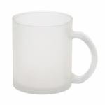 Чашка стеклянная, матовая
