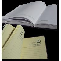 Ежедневник, датированный А5, без регистров